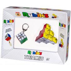 Rubik Cube Keychain + Rubik Triamid