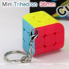 FanXin keychain three face cube 3x3x3 - Trihedron