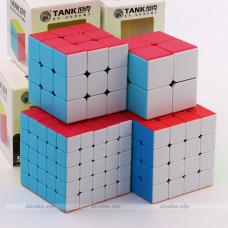 ShengShou TANK cube set 2x2, 3x3, 4x4, 5x5
