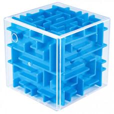 MoYu Mini 3D Maze Puzzle Cube Blue