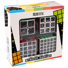 Cubing Classroom 4 in 1 Splash Gold Cubes Packing