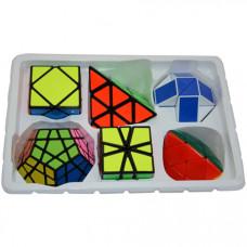 ShengShou 6 Magic Cubes Bundle - Skewb Megaminx Pyraminx Mastermorphix SQ-1 Magic Snake