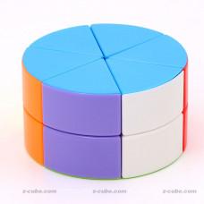 puzzle cube pancake 2-Layer Pizza